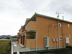 香川県三豊市高瀬町上高瀬の賃貸アパートの外観