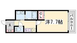 ピアグレース神戸[5階]の間取り