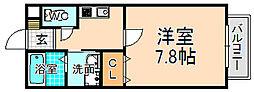 兵庫県伊丹市南本町2丁目の賃貸アパートの間取り