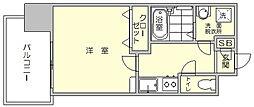 エンクレスト博多駅前3[12階]の間取り