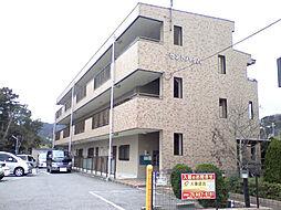 兵庫県神戸市北区有野町有野の賃貸アパートの外観
