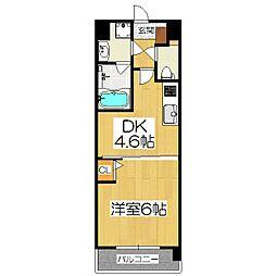 仮)京都山科三条マンション[4階]の間取り