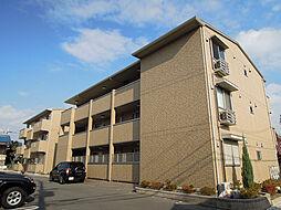 大阪府八尾市植松町2丁目の賃貸アパートの外観