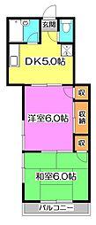 メルヘンコテージ[1階]の間取り