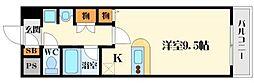 ステュディオ・パレ[8階]の間取り