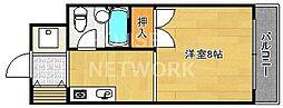 北園1200[207号室号室]の間取り