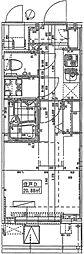 ハーモニーレジデンス田町#002[2階]の間取り