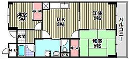 グレースコート青葉丘[2階]の間取り