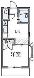 MITSUI[1階]の間取り