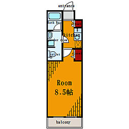 プレール・ドゥーク東雲II[1階]の間取り
