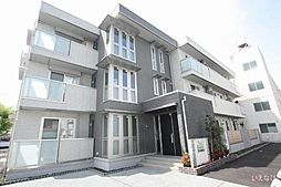 広島県福山市東手城町3丁目の賃貸アパートの外観