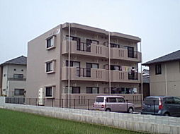 岡山県総社市三輪の賃貸マンションの外観