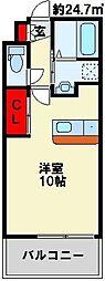 アクシオ小倉[9階]の間取り