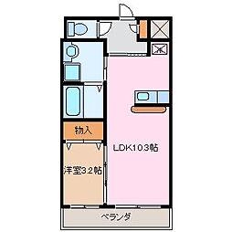 TM[2階]の間取り