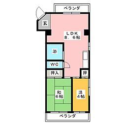 第3GSビル[3階]の間取り