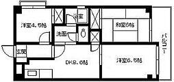 パークハイツ高須[3階]の間取り