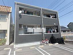 愛知県名古屋市港区当知4丁目の賃貸アパートの外観