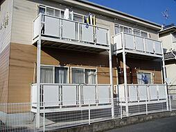 愛知県尾張旭市新居町上の田の賃貸アパートの外観