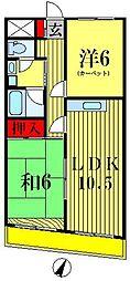 紀伊国屋マンション[8階]の間取り