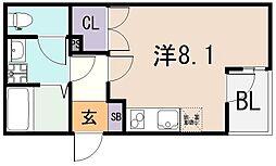 (仮称)ALEGLIA河内小阪[1階]の間取り