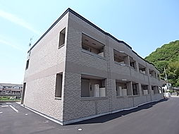 兵庫県姫路市勝原区山戸の賃貸アパートの外観