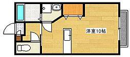 シャール藤[2階]の間取り