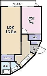 田畑ビル[3階]の間取り
