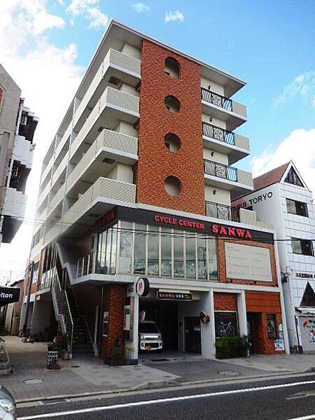兵庫県尼崎市昭和通7丁目の賃貸マンションの外観