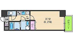 Y&Rino Residence 2階1Kの間取り