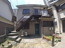 兵庫県宝塚市梅野町の賃貸アパートの外観