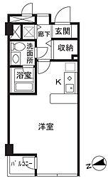 K-flat[103号室]の間取り