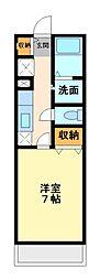 ベル スクエア[2階]の間取り