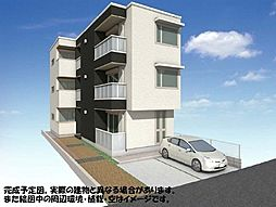 (仮称)越谷市千間台東シャーメゾン 201[2階]の外観