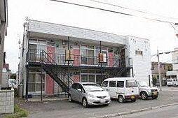 北海道札幌市北区北二十四条西16丁目の賃貸アパートの外観