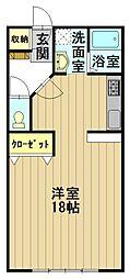 おしゃれハウス3[A302号室]の間取り
