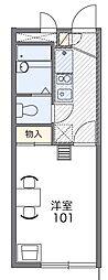 Casa10[2階]の間取り