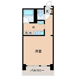 VIP仙台二日町ANNEX[5階]の間取り