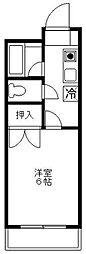 宮崎県宮崎市祇園の賃貸マンションの間取り