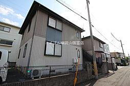 岡山県岡山市北区奥田西町の賃貸アパートの外観