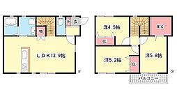 [テラスハウス] 兵庫県神戸市灘区篠原北町1丁目 の賃貸【/】の間取り