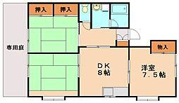 アーバンハウス[1階]の間取り