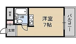 レバンガ新大阪イースト[7階]の間取り