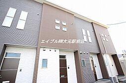 [テラスハウス] 岡山県岡山市北区津高丁目なし の賃貸【/】の外観