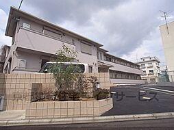 京都府京都市右京区西院清水町の賃貸アパートの外観