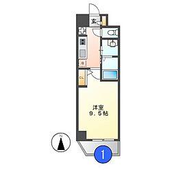 サンドリヨン[6階]の間取り