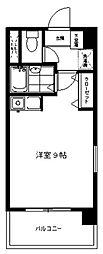 フレグランス生田[405号室号室]の間取り