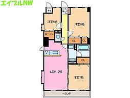 ソレイユ11[2階]の間取り