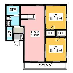SOYOGO[1階]の間取り