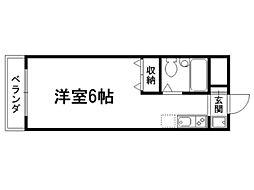 紫明ドミトリー[3階]の間取り