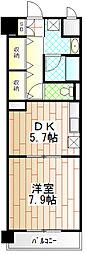シャンゼリゼ高根[3階]の間取り